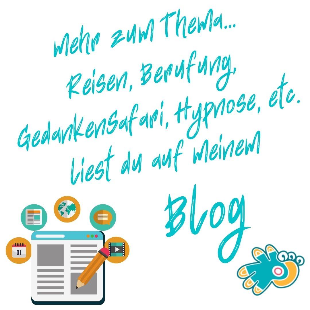 Blog, Reiseblog, Hypnose Blog