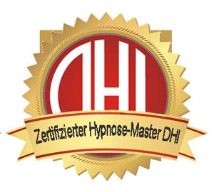 HypnoseMaster zertifiziert vom Deutschen Hypnose Institut