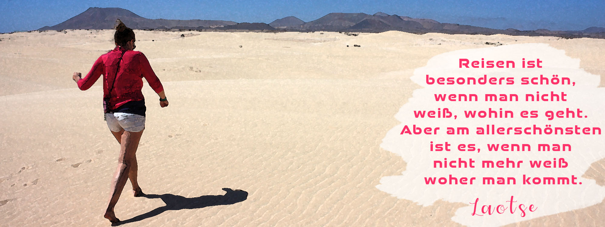 Fuerteventura Wüste Düne