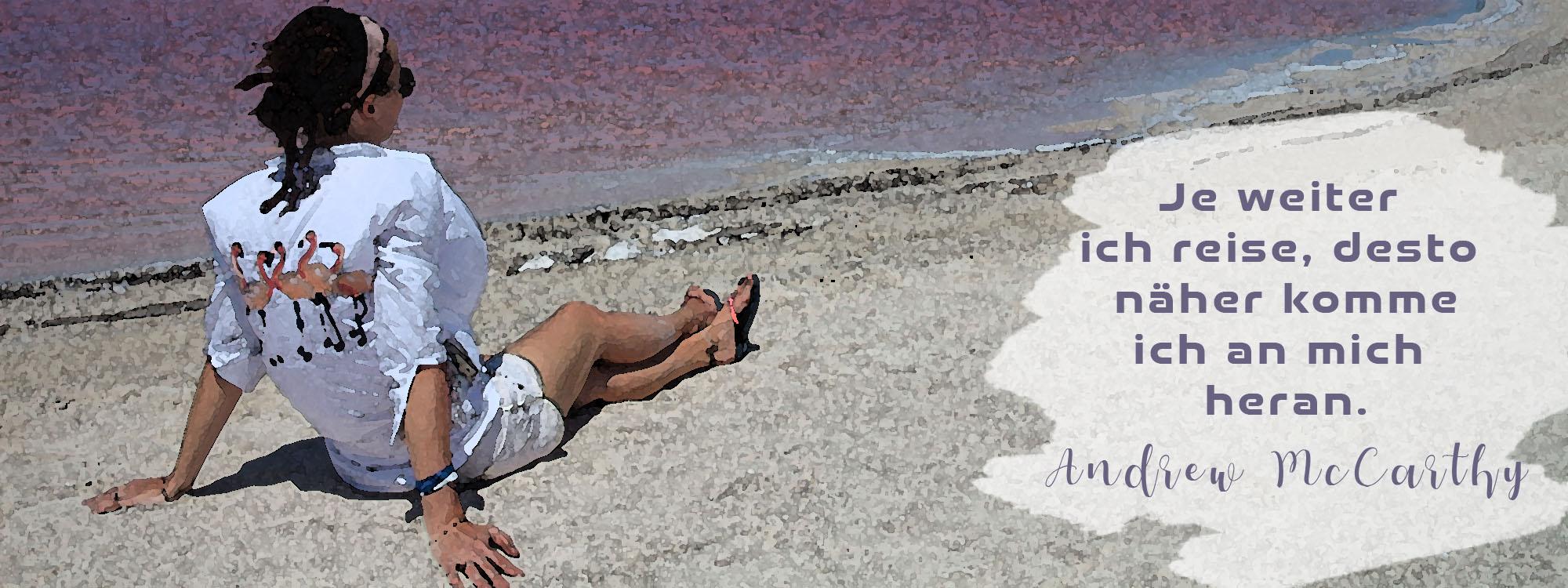 Pink Lake Mexico
